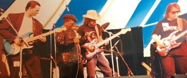 Glenn Davis and Blues Commission
